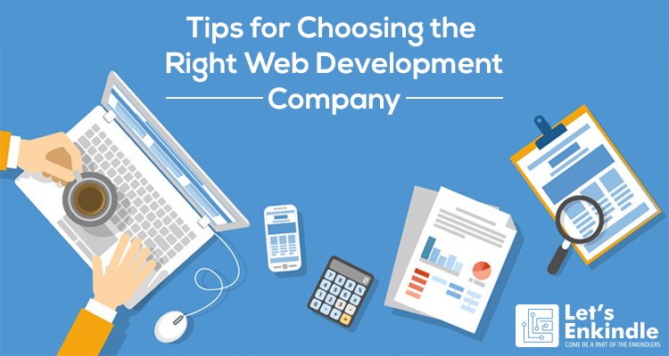 how to choose web development company